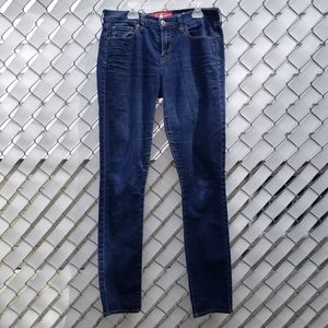 2/$55 Lucky Brand Sophia Skinny mid rise dark blue